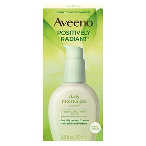 Aveeno Positively Radiant Daily Moisturizer, SPF 15&nbsp;