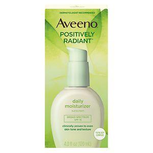 Aveeno Positively Radiant Daily Moisturizer, SPF 15- 4 fl oz
