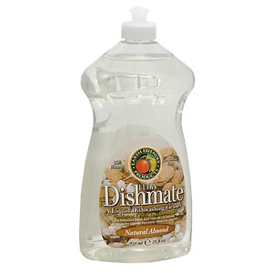 Earth Friendly Products Ultra Dishmate, Liquid Dishwashing Cleaner, Natural Almond