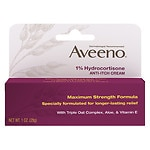 Aveeno Maximum Strength Anti-Itch Cream, 1% Hydrocortisone