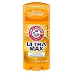 Arm & Hammer Ultramax Antiperspirant & Deodorant Invisible Solid, Unscented