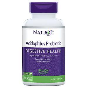 Natrol Acidophilus, Probiotic, Capsules, 150 ea