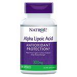 Natrol Alpha Lipoic Acid, 300mg, Capsules