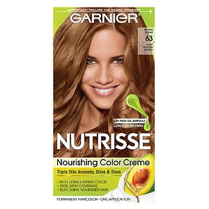 Garnier Nutrisse Permanent Haircolor, Brown Sugar 63