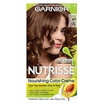 Garnier Nutrisse Permanent Haircolor, Light Natural Brown 60