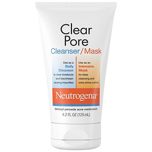 Neutrogena Clear Pore Cleanser/Mask- 4.2 fl oz