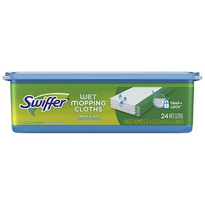 Swiffer Sweeper Wet Mopping Cloths, Open Window Fresh Grand Air- 24 ea