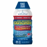 Wellesse Joint Movement Glucosamine with Chondroitin + MSM, Natural Berry