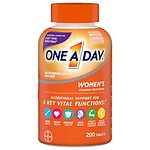 One A Day Women's Formula Vitamins, Tablets- 200 ea