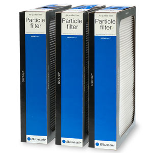 Blueair 500/600 Series Replacement Particle Filters 501PFK- 3 ea