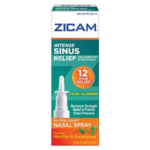 Zicam Intense Sinus Relief No-Drip Liquid Nasal Gel- .5 fl oz