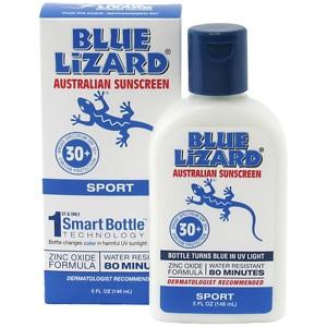 Blue Lizard Australian Sunscreen, Sport, SPF 30+- 5 fl oz