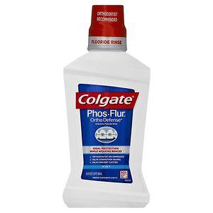 Colgate Phos-Flur Anti-Cavity Fluoride Rinse, Cool Mint- 16 oz