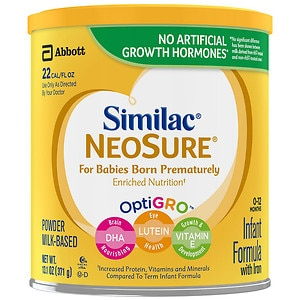 Similac NeoSure, Infant Formula with Iron, Powder