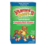 Yummi Bears Vegetarian Multivitamin & Mineral, Gummy Bears- 90 ea
