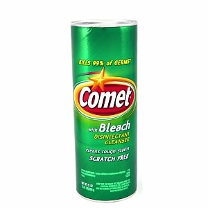 Comet Disinfectant Cleanser With Bleach- 21 oz