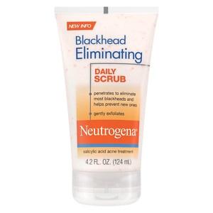 Neutrogena Blackhead Eliminating Daily Scrub, 4.2 fl oz
