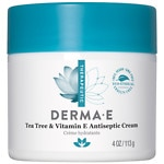 derma e Tea Tree & E Antiseptic Creme- 4 oz