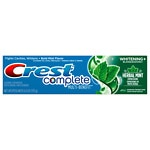 Crest Complete Multi Benefit Toothpaste, + Whitening, Herbal Mint Expressions