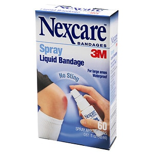 Nexcare No Sting Liquid Bandage Spray- .61 fl oz