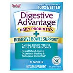 Schiff Digestive Advantage Intensive Bowel Support Capsules