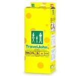 TravelJohn Disposable Personal Urinal Bag for Men, Women & Children- 18 ea