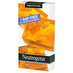 Neutrogena Transparent Facial Bar Bonus Pack, Original Formula