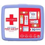 Johnson & Johnson Safe Travels First Aid Kit- 1 ea