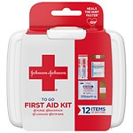 Johnson & Johnson First Aid To Go, Mini First Aid Kit- 1 ea