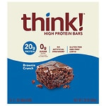 thinkThin High Protein Bar, Brownie Crunch- 2.1 oz