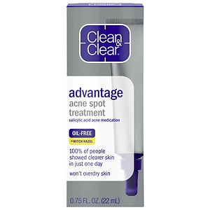 Picture Baby Acne on Buy Clean   Clear Advantage Acne Spot Treatment   More   Drugstore Com