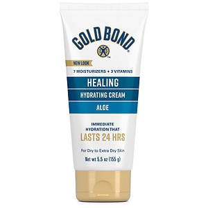 Gold Bond Ultimate Healing Skin Therapy Cream, Aloe- 5.5 fl oz