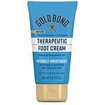 Gold Bond Foot Cream, Triple Action Relief- 4 fl oz