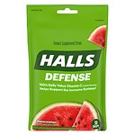 Halls Defense Vitamin C Supplement Drops, Watermelon- 30 ea
