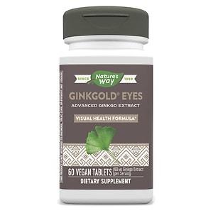Nature's Way Ginkgold Eyes Ginkgo Biloba, Tablets- 60 ea