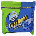 Scrubbing Bubbles Fresh Brush Flushable Refills Toilet Cleaning System, Citrus Action