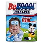 Be Koool Soft Gel Sheets for Kids- 4 ea