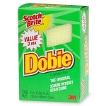 Scotch-Brite Dobie Cleaning Pad- 3 ea