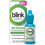 Blink Contacts Lubricating Eye Drops- .34 fl oz
