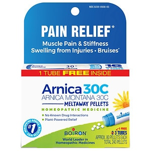 Boiron Arnica 30C Pellets Value Pack