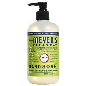 Mrs. Meyer's Clean Day Liquid Hand Soap, Lemon Verbena