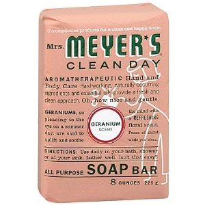 Mrs. Meyer's Clean Day All Purpose Soap Bar, Geranium