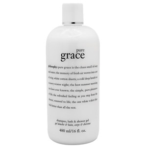philosophy pure grace shampoo, bath & shower gel- 16 oz