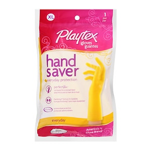 Playtex Handsaver Gloves FlexStrong Formula, X-Large