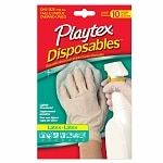 Playtex All Purpose Disposable Latex Gloves- 10 ea
