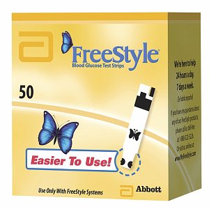 FreeStyle Test Strips (Monitor Sold Separately)- 50 ea