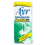 Ayr Saline Nasal Gel, No-Drip Sinus Spray
