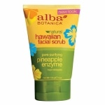 Alba Botanica Hawaiian Facial Scrub, Pore Purifying Pineapple Enzyme- 4 oz