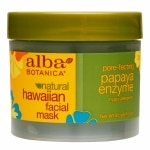 Alba Hawaiian Facial  Mask, Papaya Enzyme