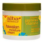 Alba Botanica Hawaiian Moisture Cream, Jasmine & Vitamin E